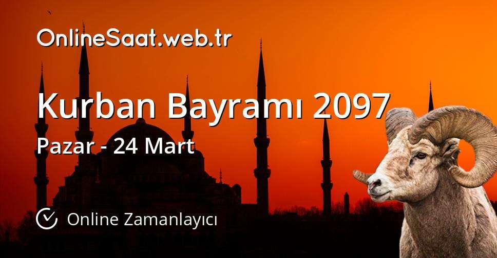 Kurban Bayramı 2097